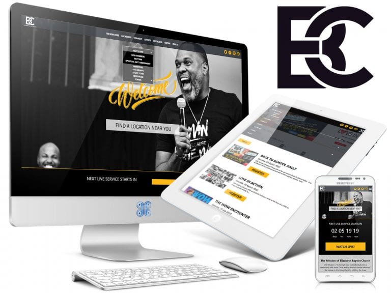 Elizabeth Baptist Church Website Design