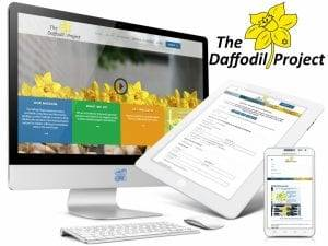 The Daffodil Project - Nonprofit Web Design