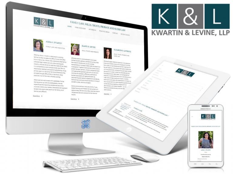Family Law Firm Web Design