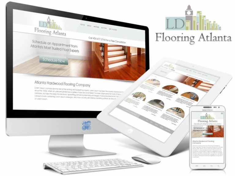 Flooring Company Web Design