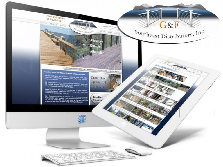 South East Distributors Cable Railing Architecture Web Design