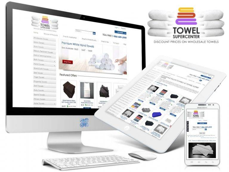 Wholesale Towel eCommerce Web Design