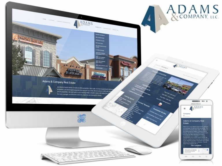 Adams Property Management Web Design