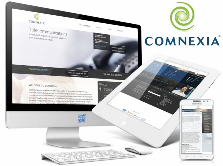 Comnexia IT Services Web Design