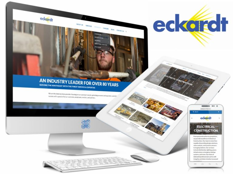 Eckardt Electric Company Web Design