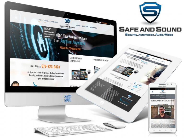 Safe and Sound Security Website Design