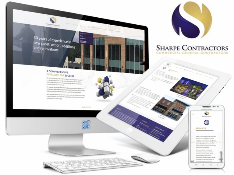 Sharpe General Contractors Web Design