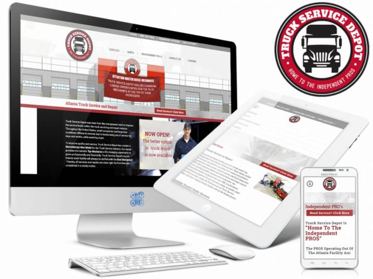 Trucking Industry Web Design Showcase
