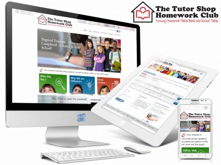 Tutorshops Educational Portal Web Design