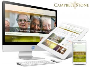 Web Design for retirement communities