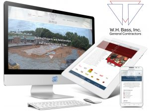WH BASS Construction Web Design