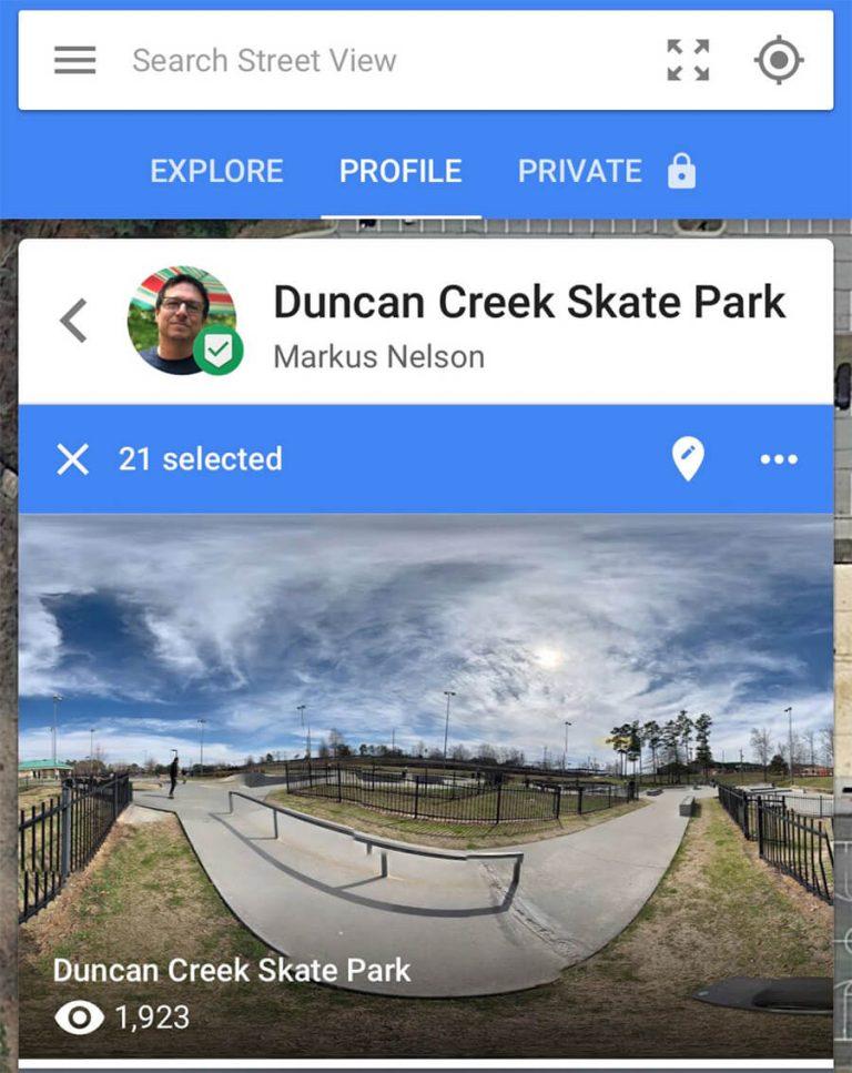 Google Street View App Profile