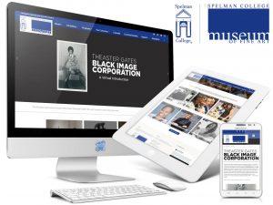 Atlanta Spelman College Museum of Fine Art Website Design