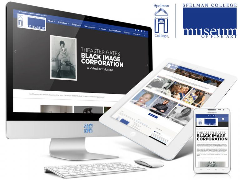 Atlanta Spelman College Museum of Fine Art Website Design